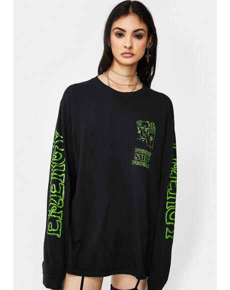 Psychic Surf Long Sleeve Tee