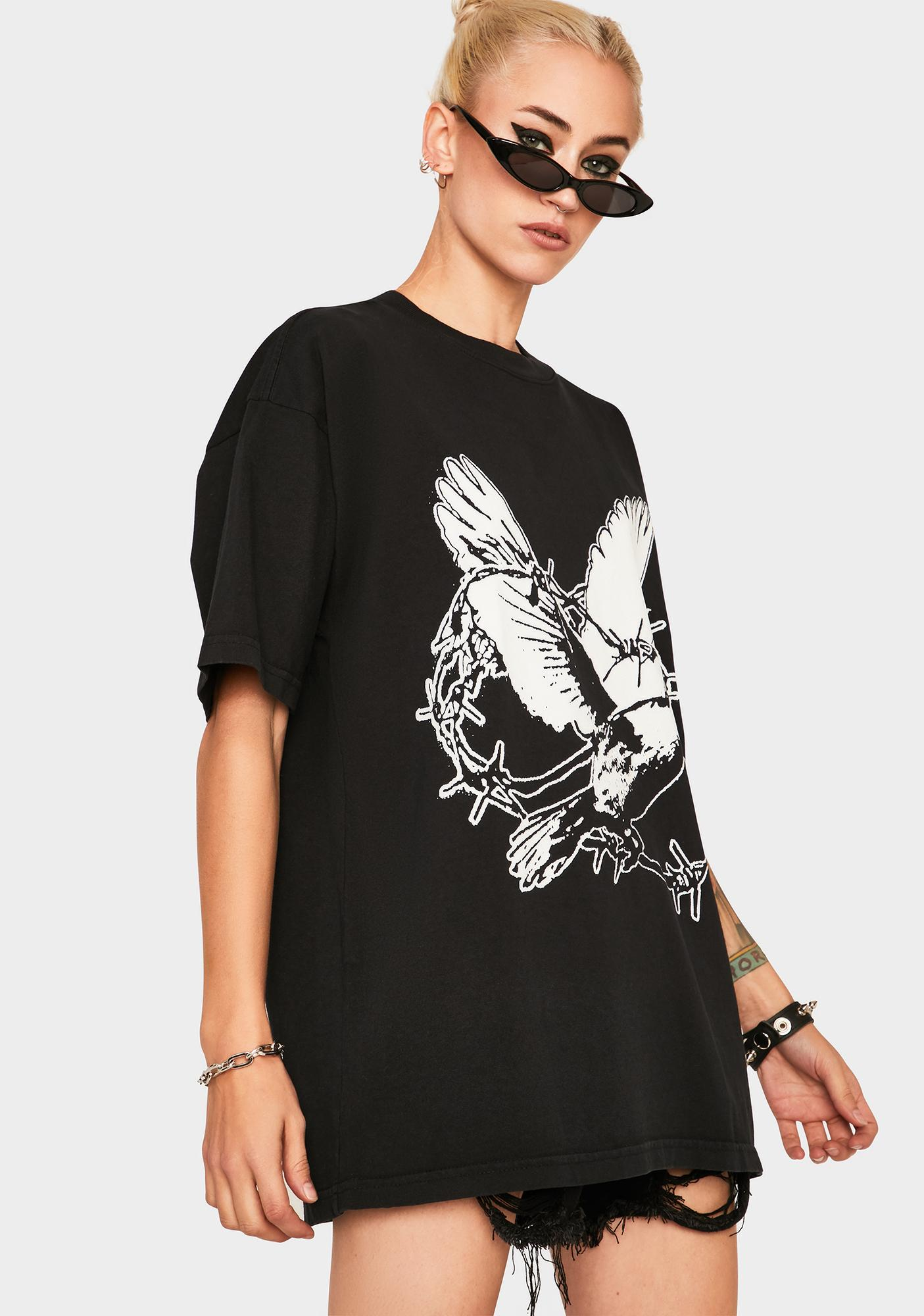 Obey But We Still Fight Graphic Tee
