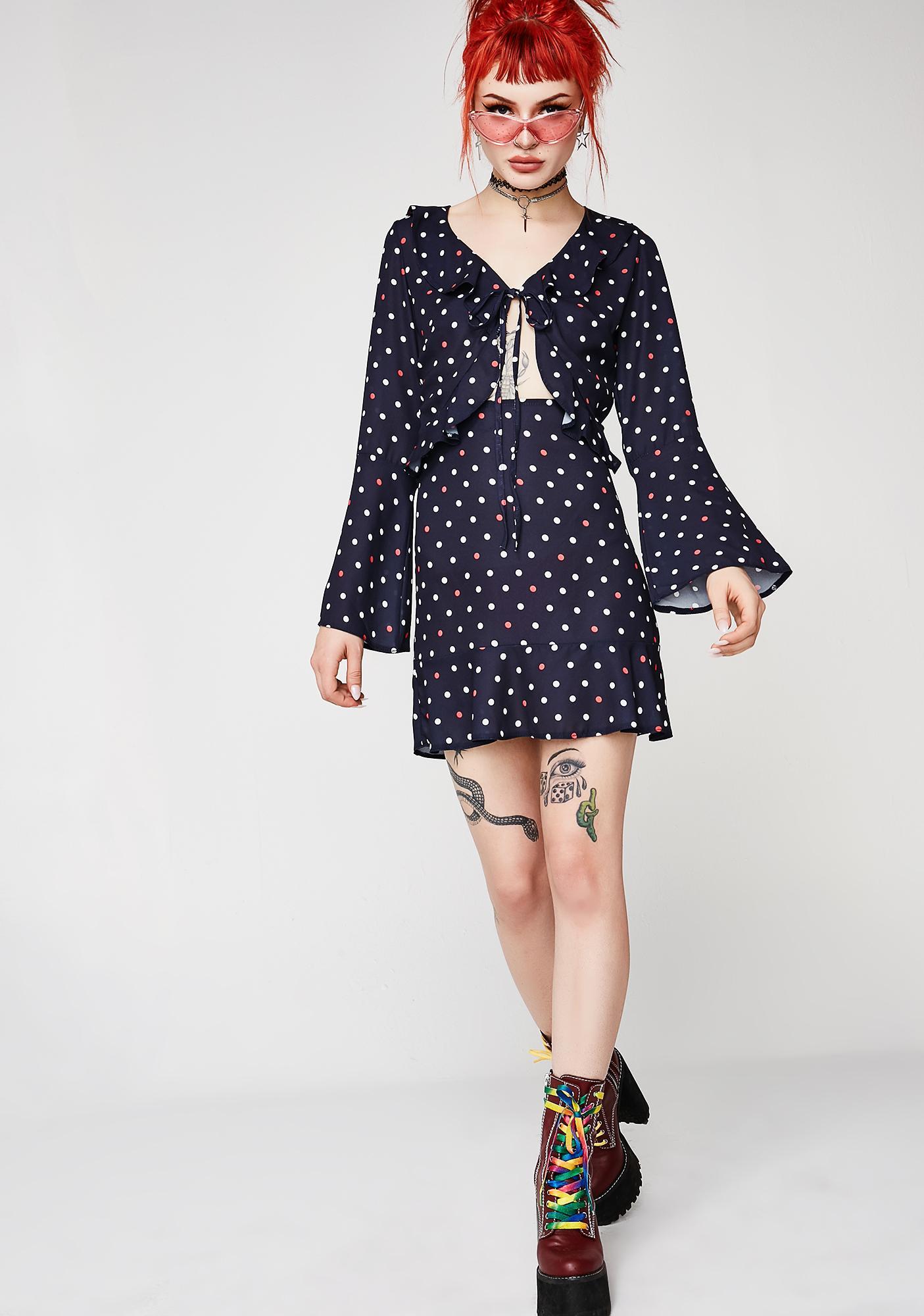 Day Trip Polka Dot Dress
