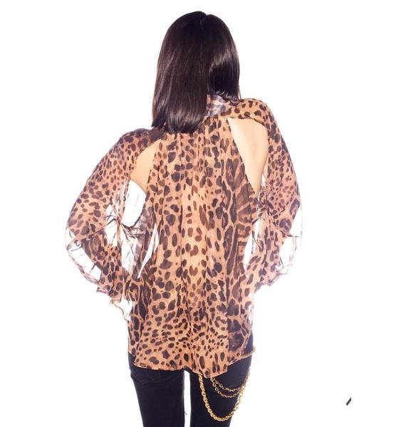 UNIF Leopard IT Shirt