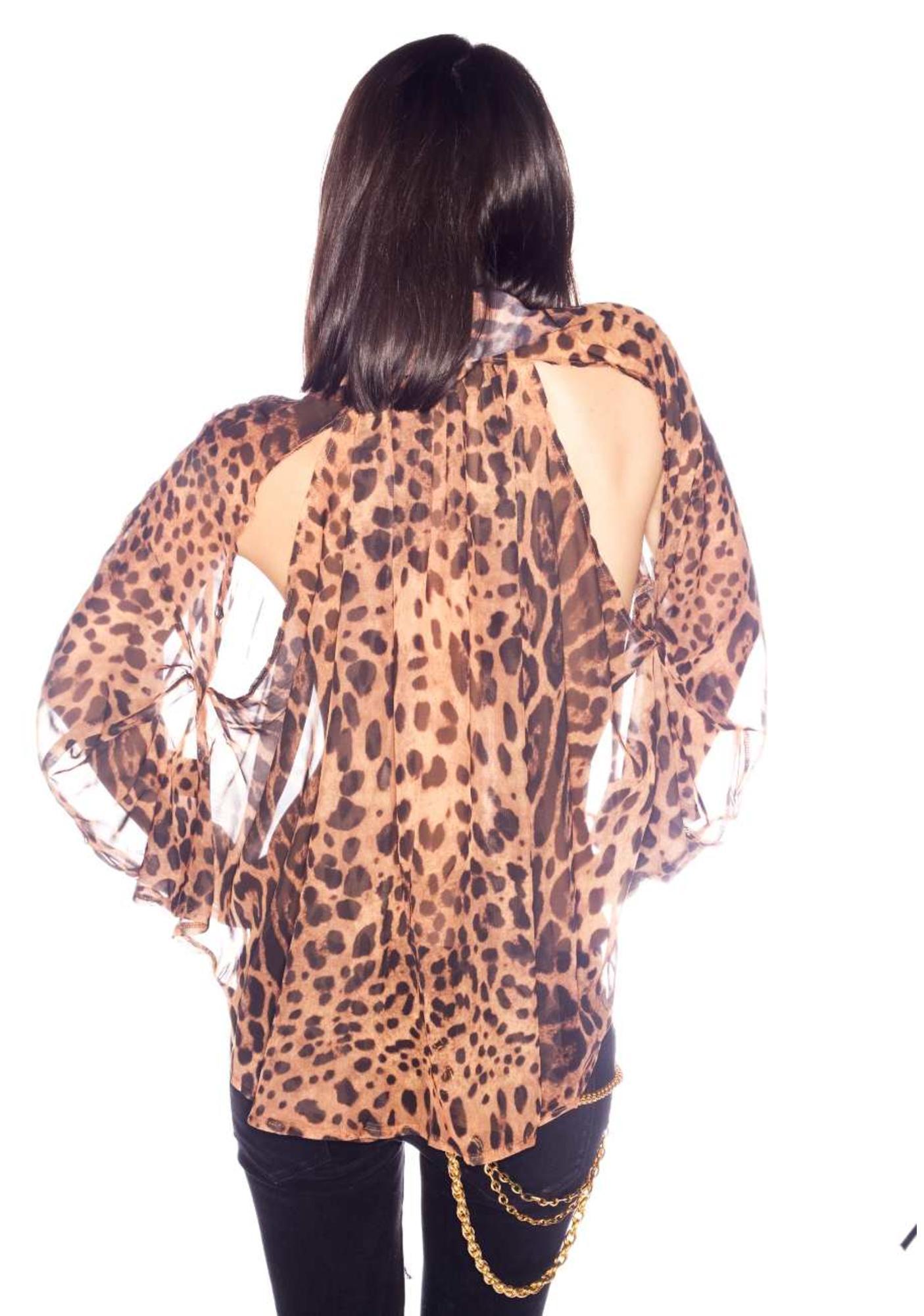 UNIF Leopard IT Shirt