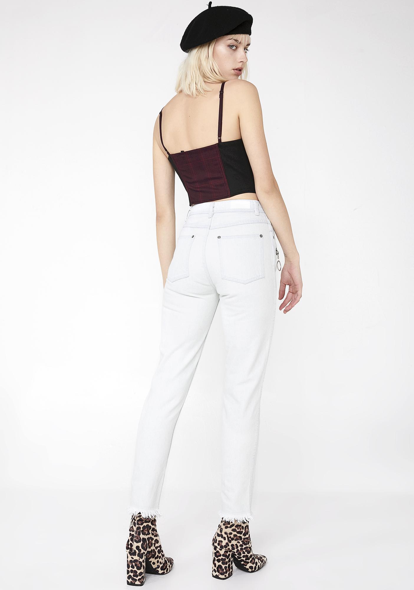 Nana Judy O-Ring Zipper Pants