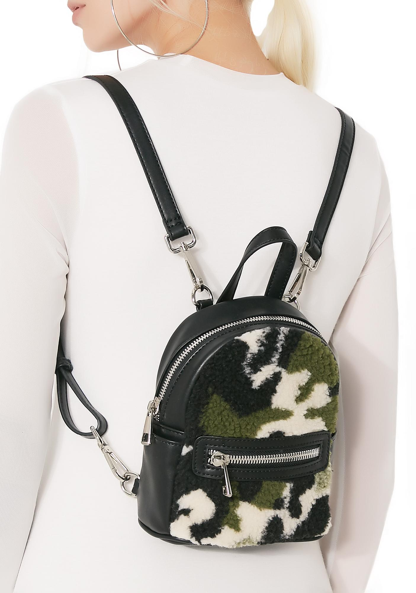 Poster Grl Camo Cutie Mini Backpack