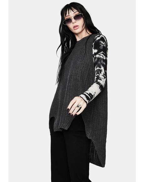 Gloomy Winter Bummer Knit Sweater Tank
