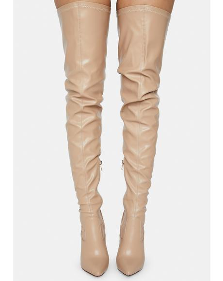 Ginger Mindful Thigh High Boots