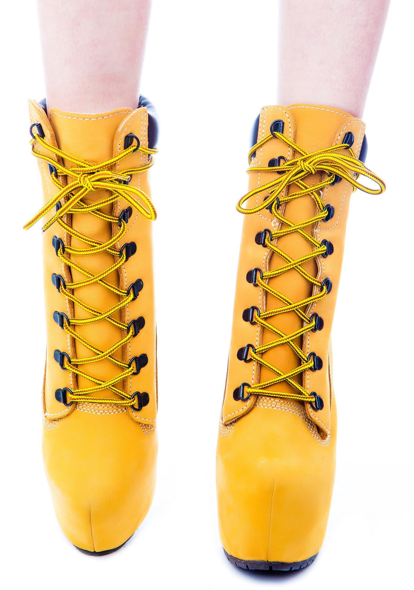 Timber! Gi-Jo Platform Boots