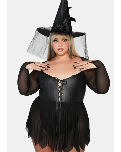 Wild In The Night Witch Costume