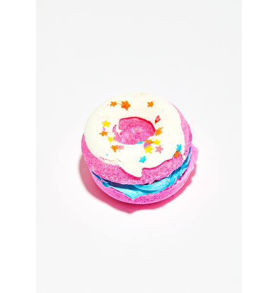 New York's Bathhouse Jamaican Vanilla Cafe Donut Sandwich Bath Bomb
