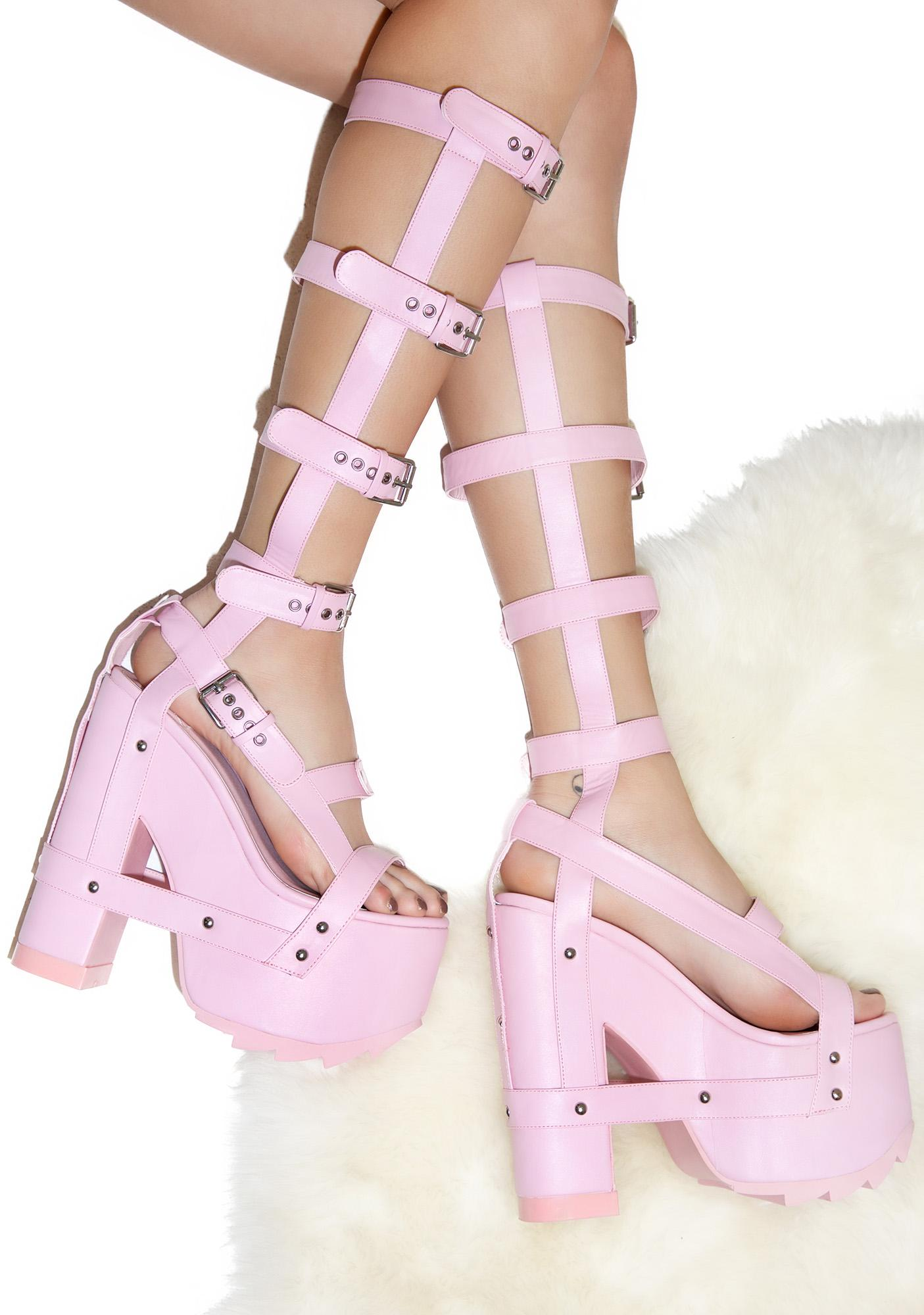 Y.R.U. Baby Nightcall Hi Platform Heels | Dolls Kill