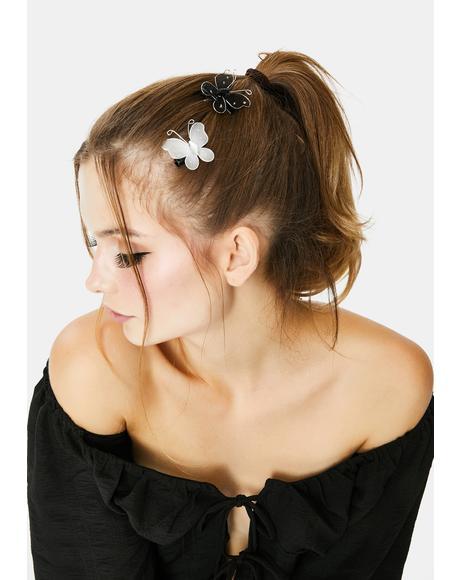 Fairytale Feelings Butterfly Hair Clips