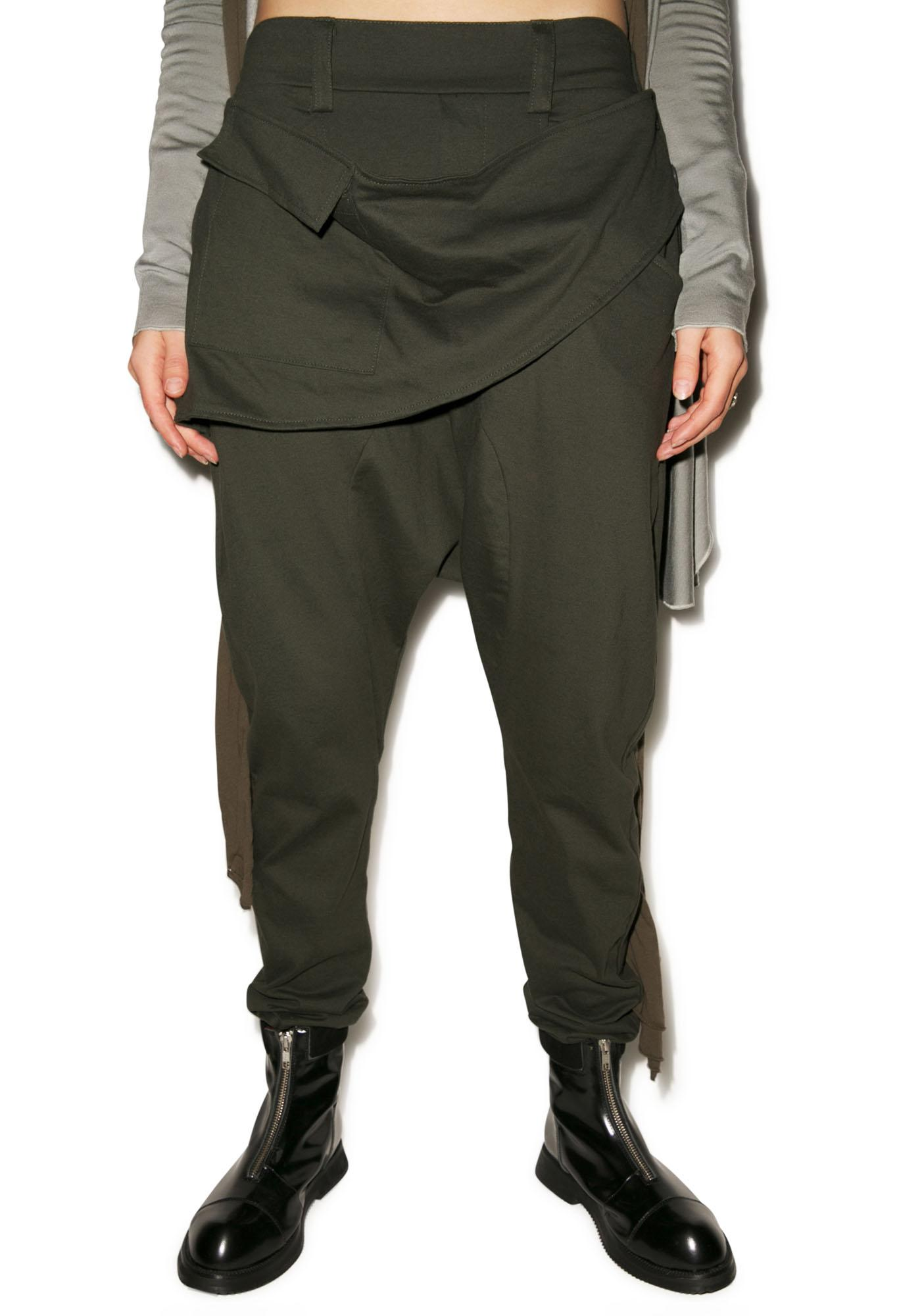 MNML Dust Drop Crotch Pants