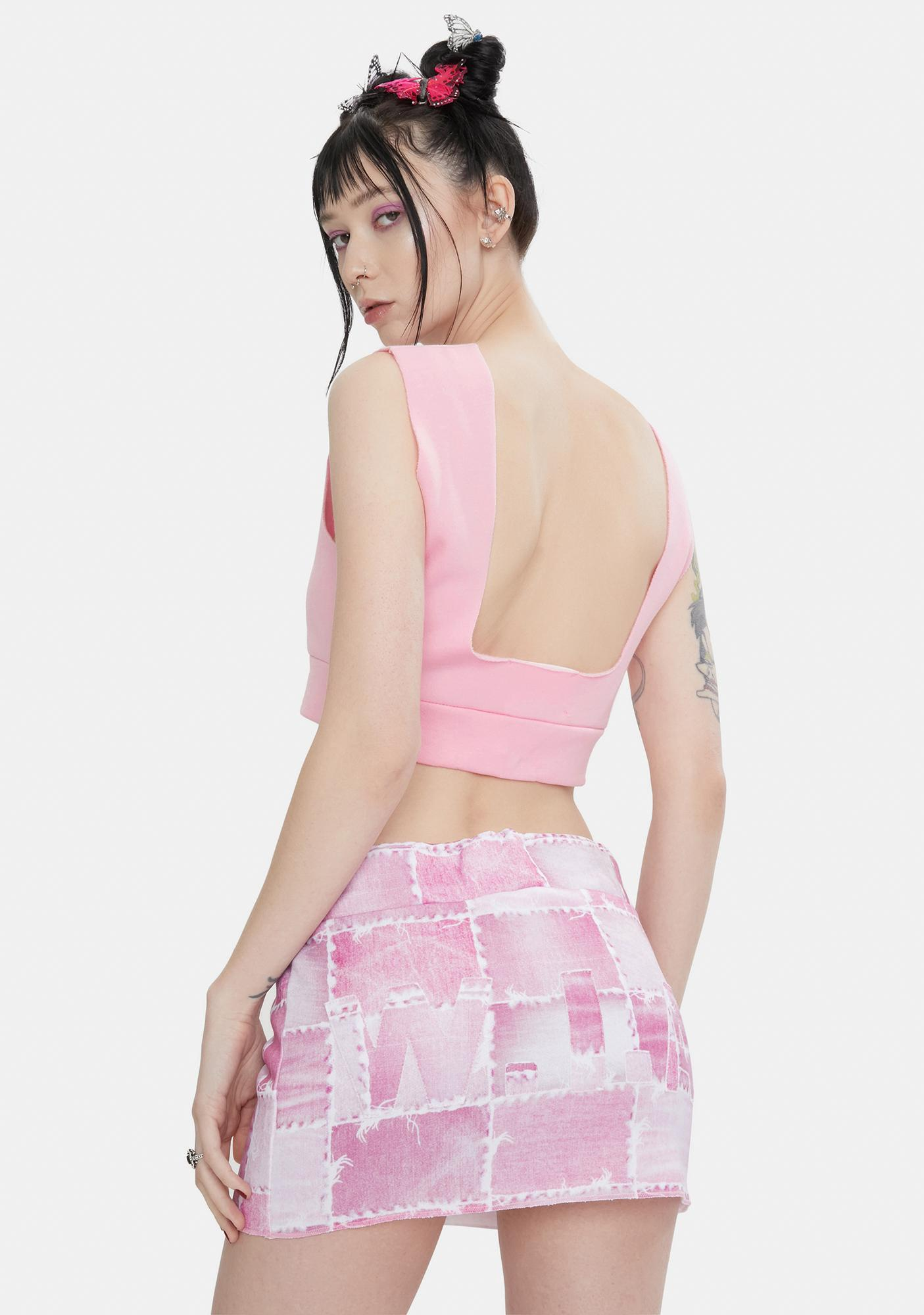 W.I.A Sacramento Mini Skirt