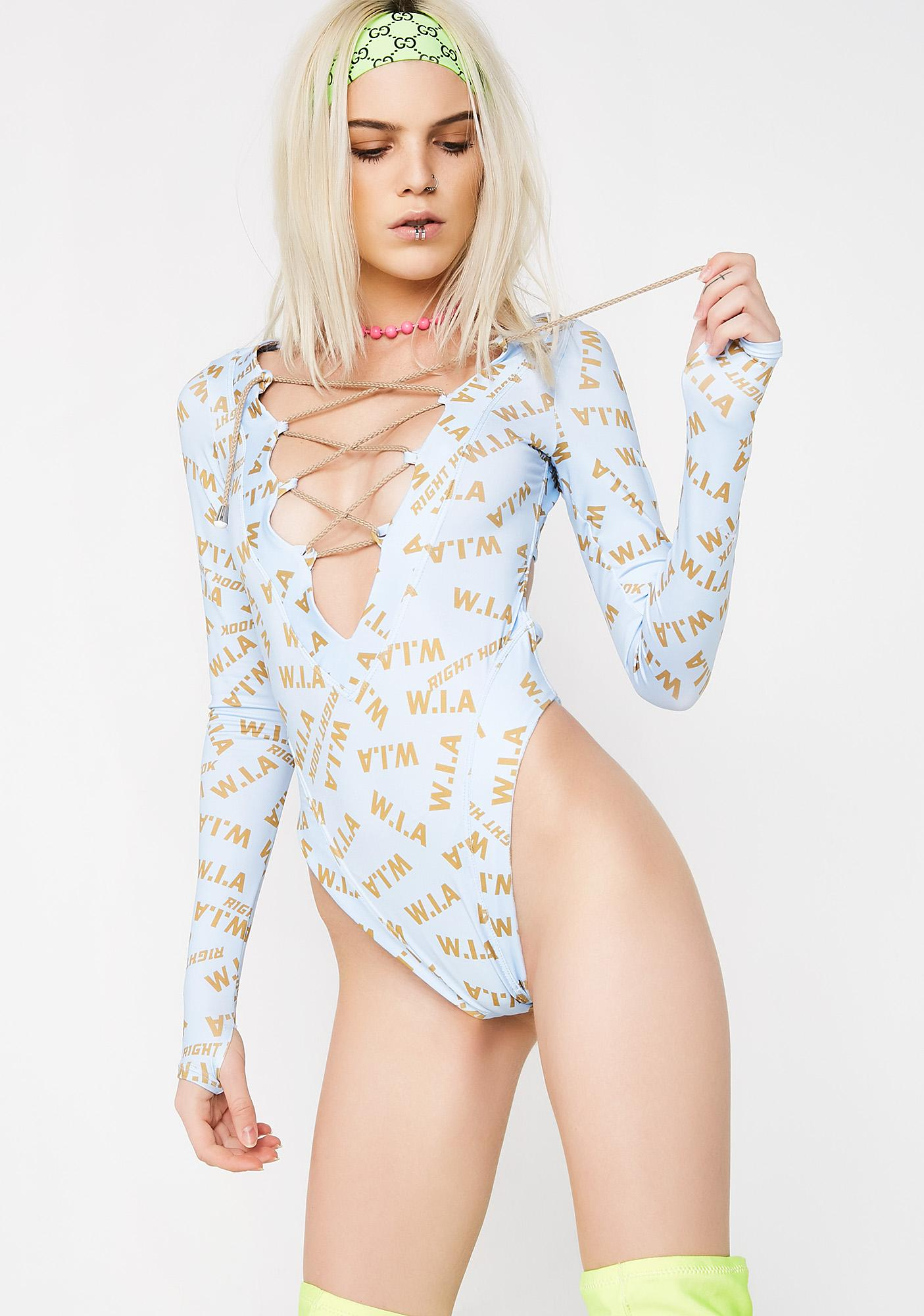 W.I.A Ring Blue Bodysuit