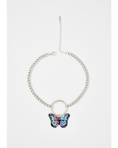 Butterfly Effect O-Ring Choker