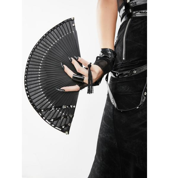 Devil Fashion Tassel Fan