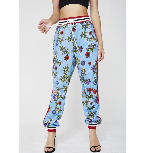 Reason Floral Track Pants
