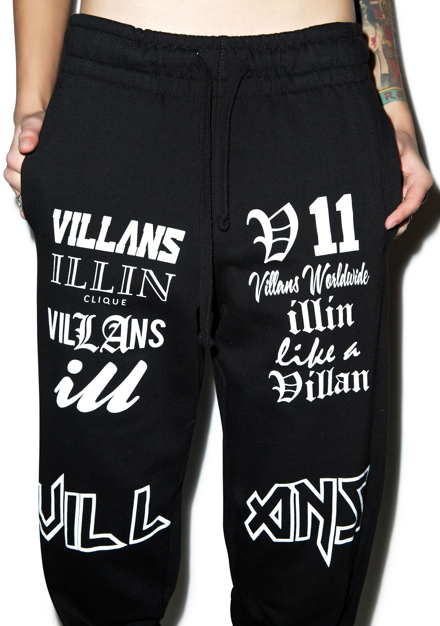 Villans Sample Script Sweats