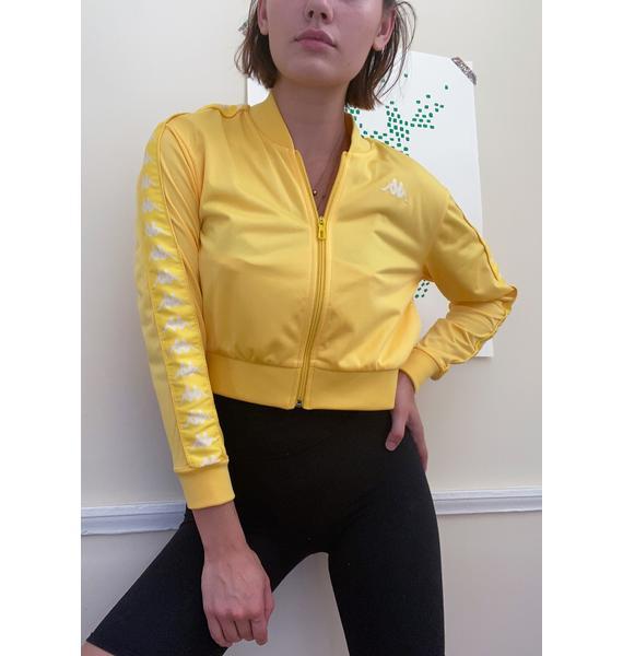 Kappa Yolk 222 Banda Asber Crop Jacket
