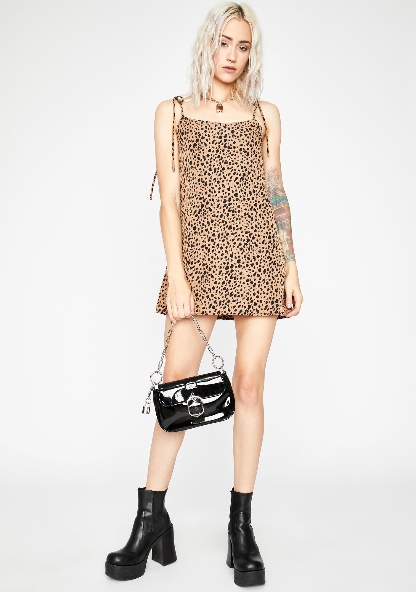 Cat Gotcha Tongue Mini Dress