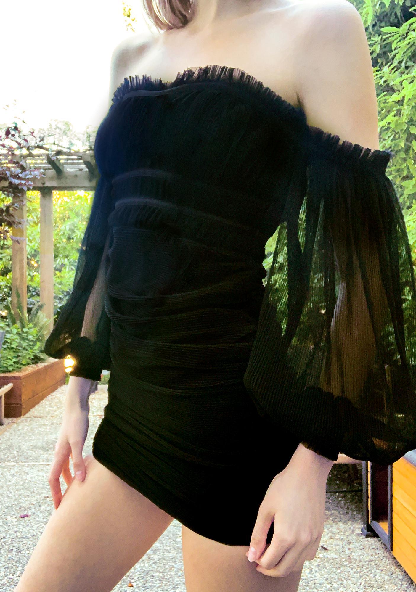 In The Shadows Mini Dress