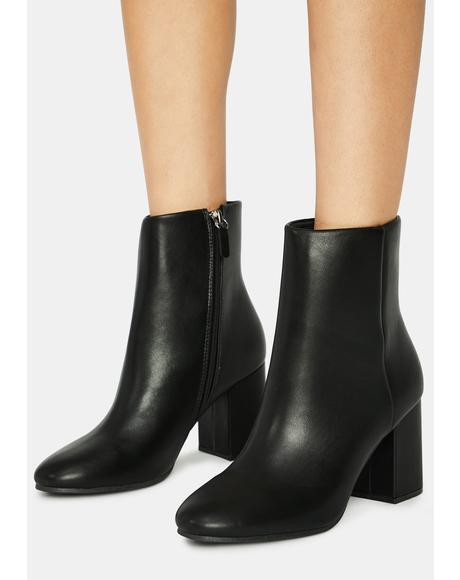 Mystic Pretty Bish Ankle Boots