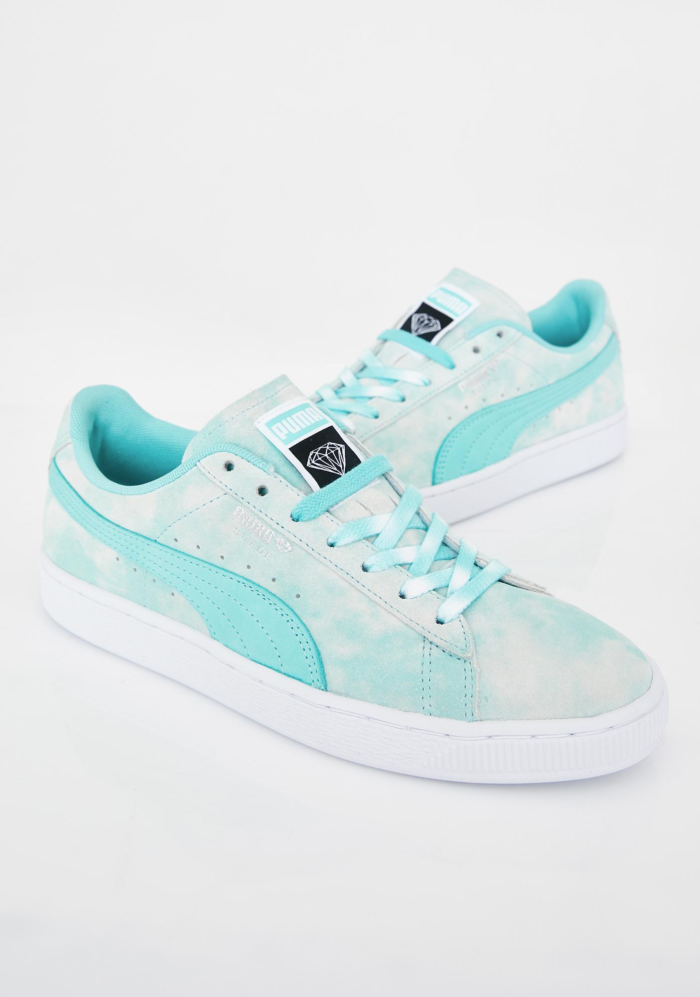 PUMA x Diamond Supply Co. Suede Sneakers