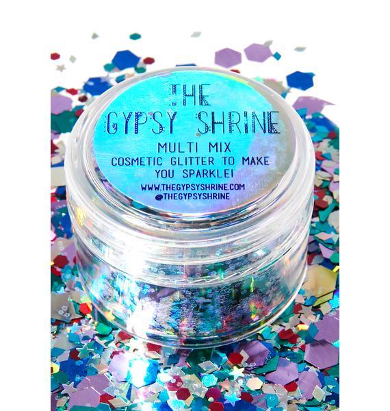 The Gypsy Shrine Chunky Multi Mix Face Glitter