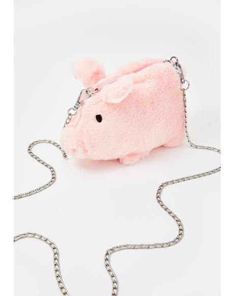Hogs N' Kisses Plush Crossbody