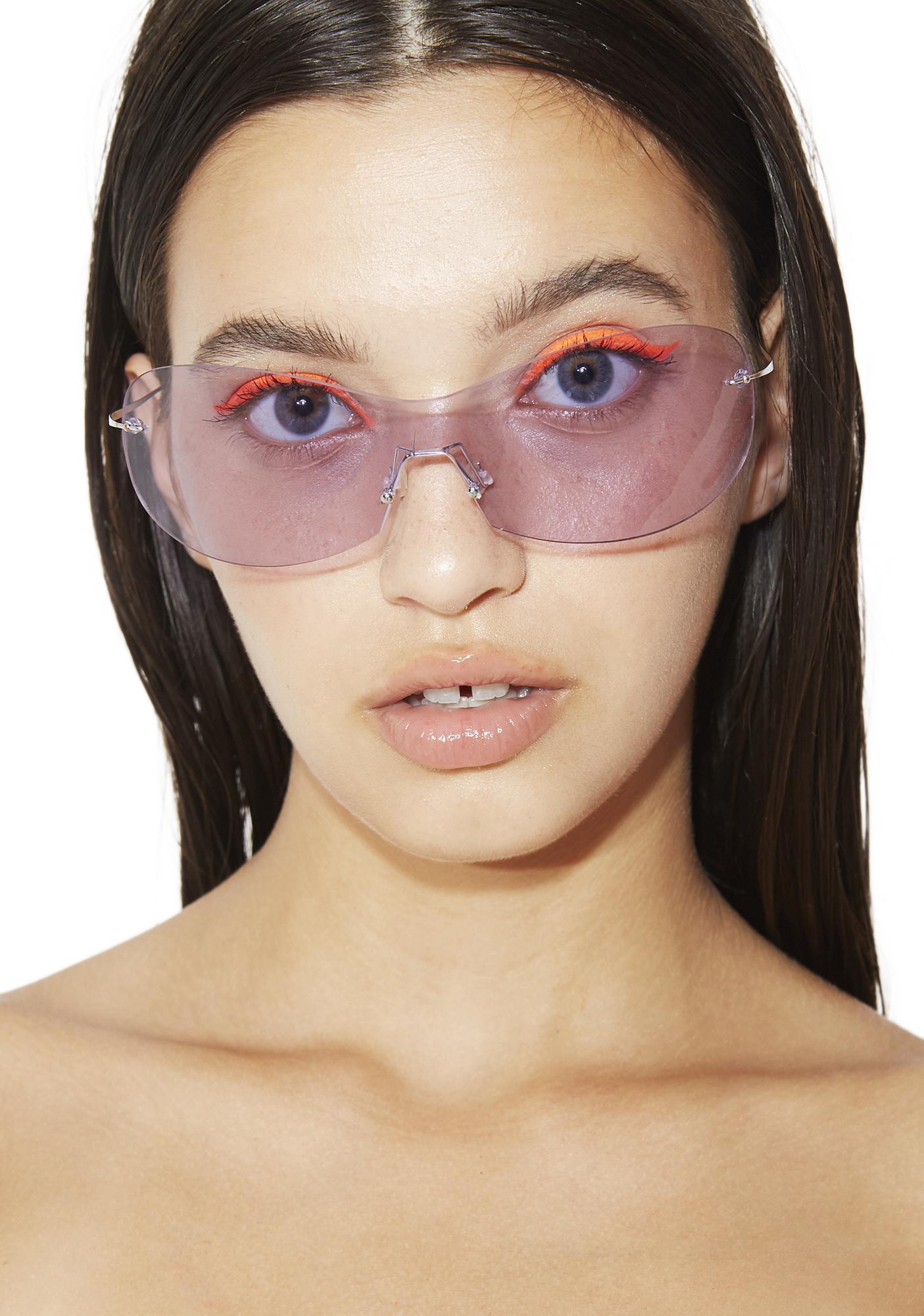 Lavender Future Shock Sunglasses