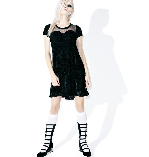 Iron Fist Cave Creeps Sweetheart Dress