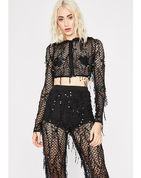 Cyberpunk Crime Sequin Set