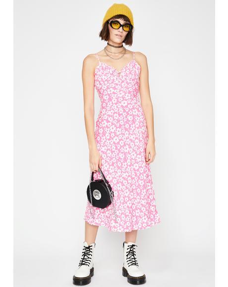 Pollen Candy Floral Dress