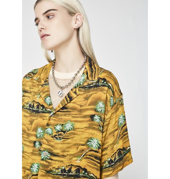 Insight Hotel California Gold Shirt