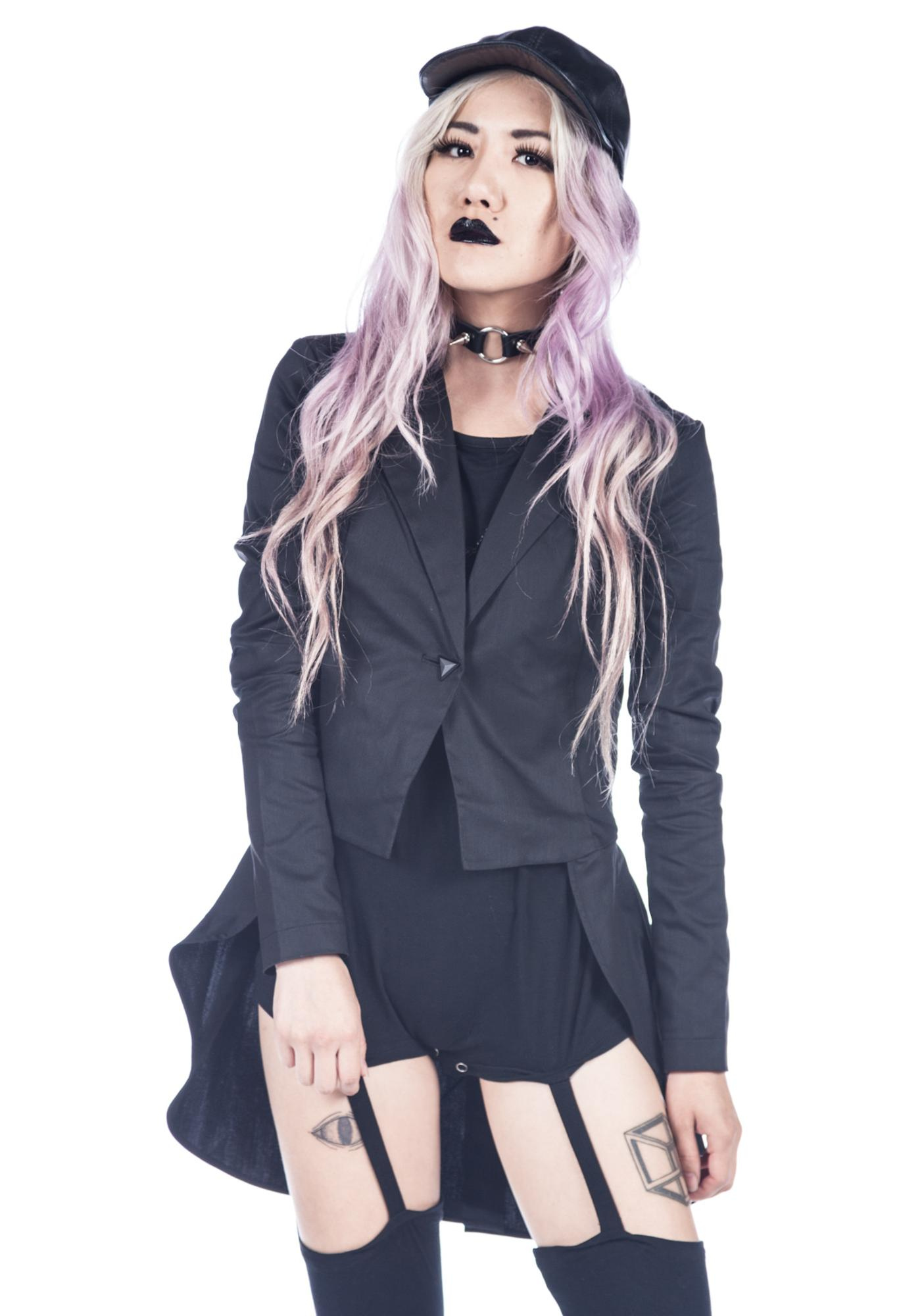 Widow Wax Twill Tuxedo Jacket