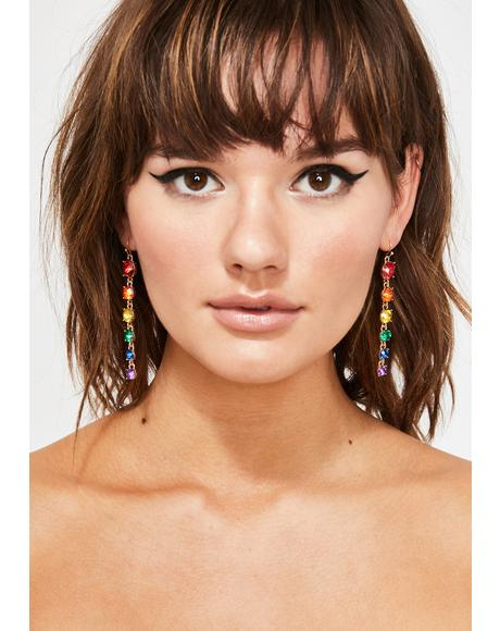 Flash Factory Drop Earrings