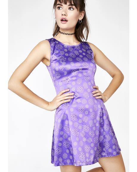 Glamphoria Satin Dress