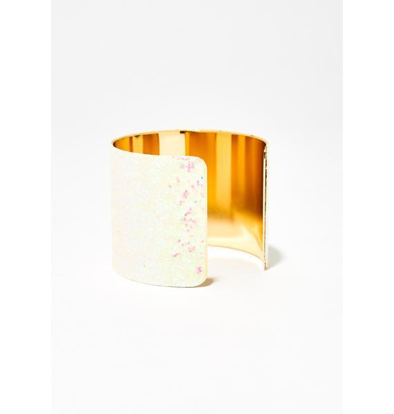 Opulent Goddess Hologram Cuff