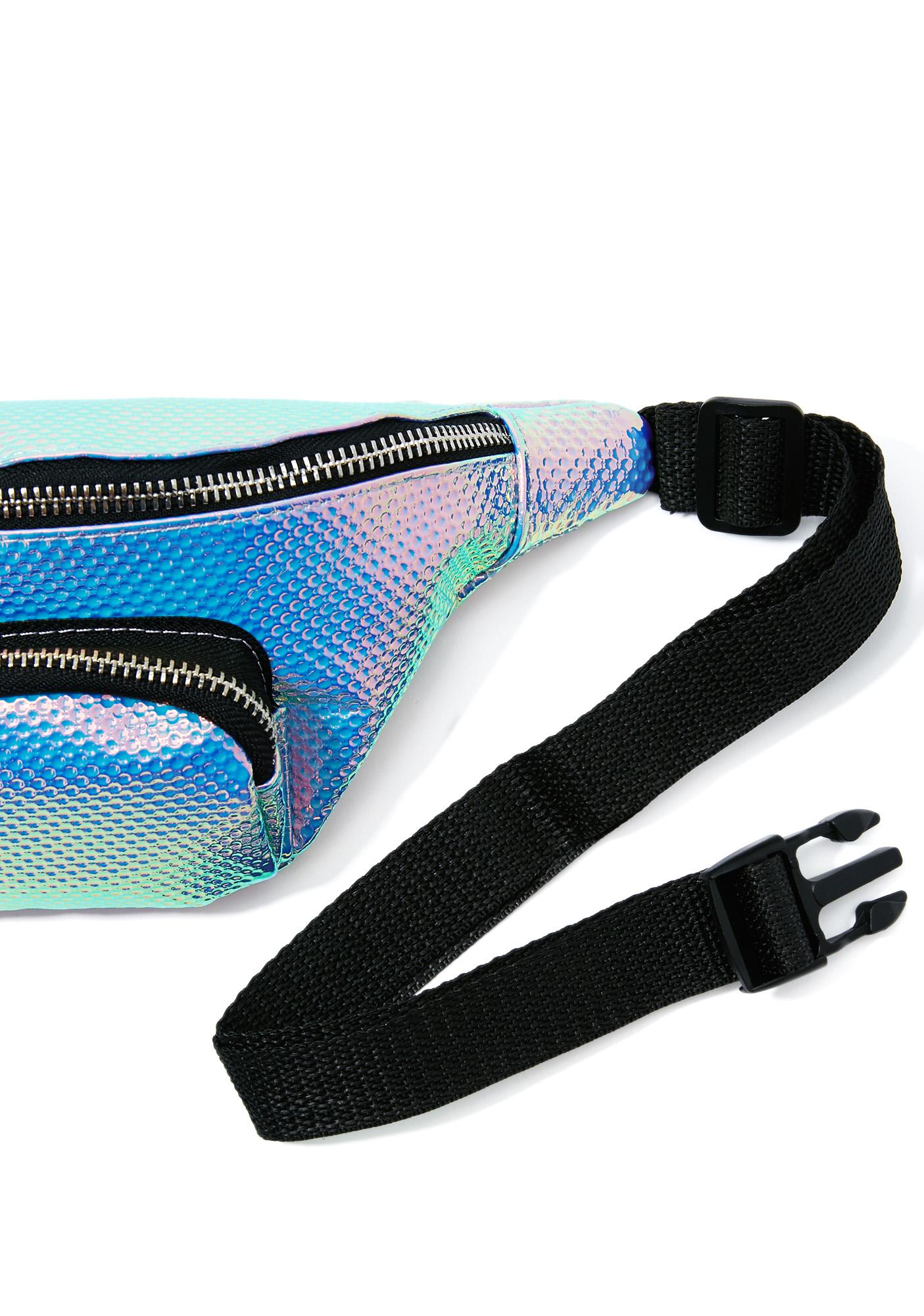 Skinnydip Holo Cat Fanny Pack