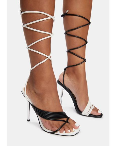 Laker Wrap Stiletto Sandals