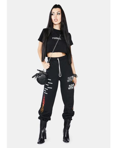 Onyx Playing With Fire Sweatpants