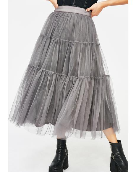 Tulle Much For U Skirt