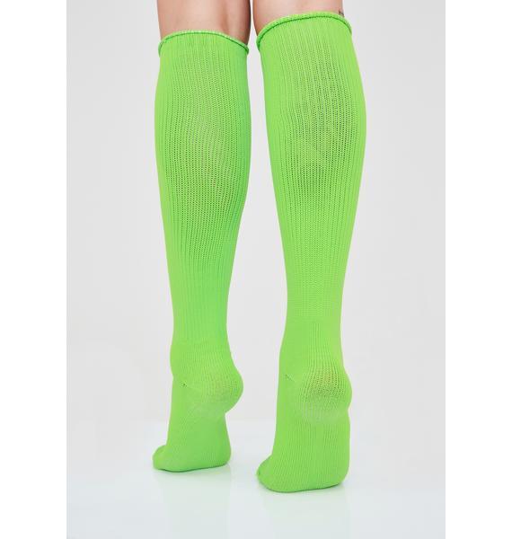 Plasma Pixie Knee High Socks
