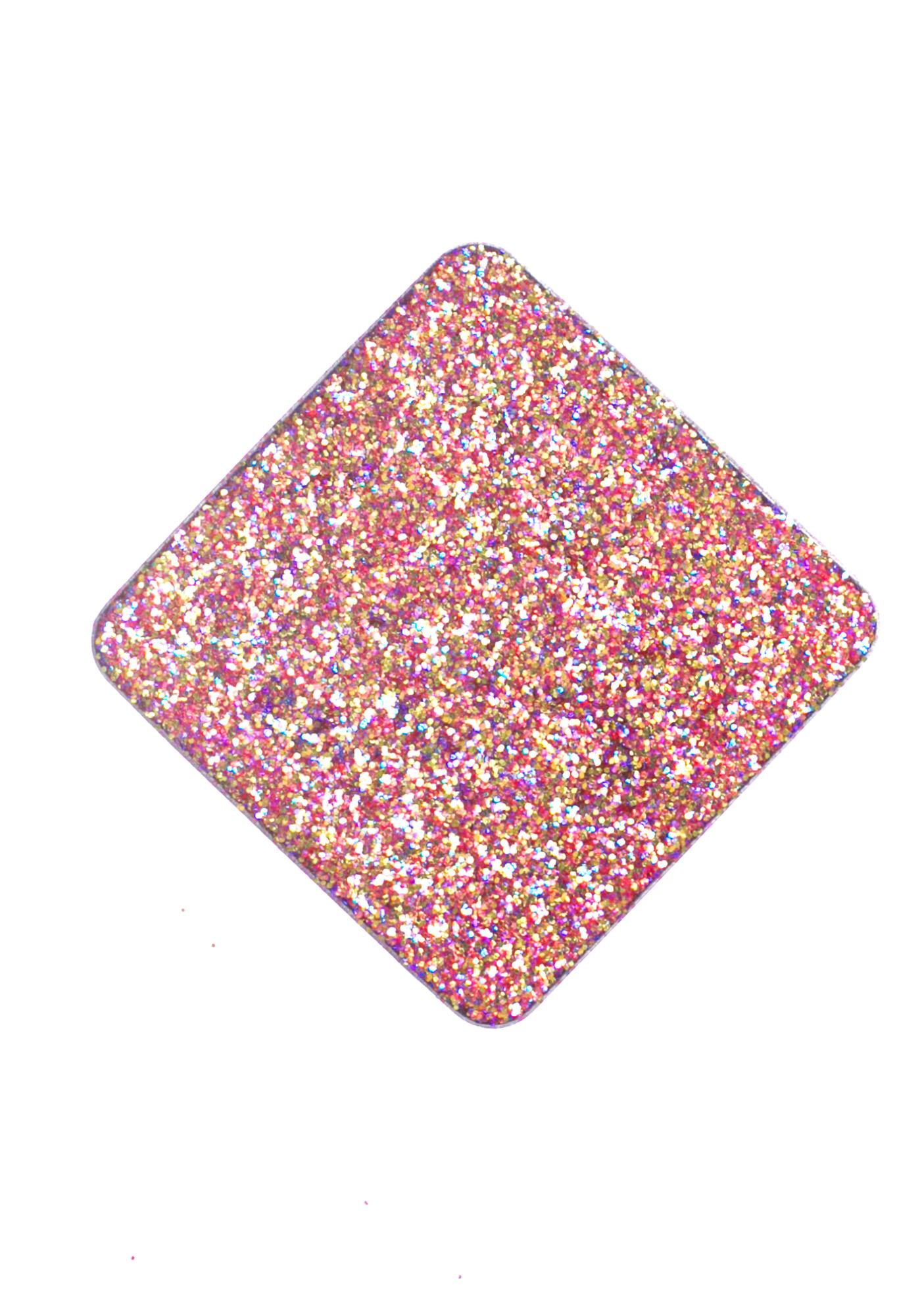 Glitter Injections Pink Coral Pressed Glitter