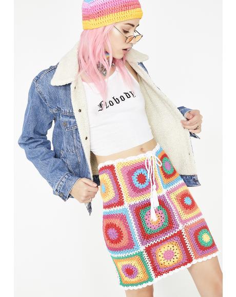 Groovy Granny Skirt