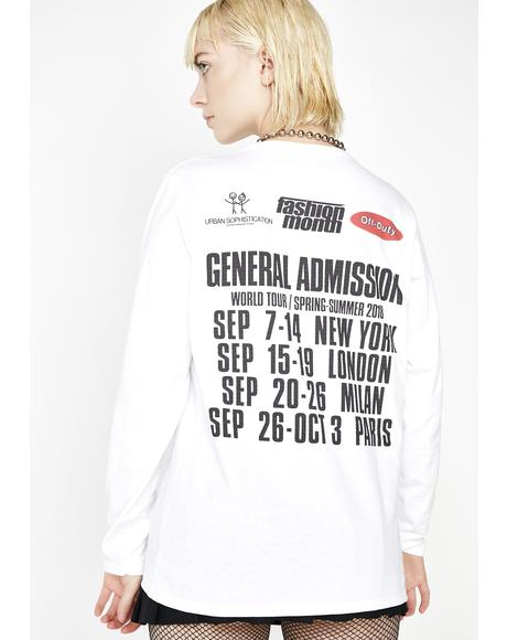 Fashion Month Tour Shirt