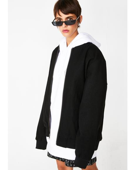 Wavy Nerm Varsity Jacket