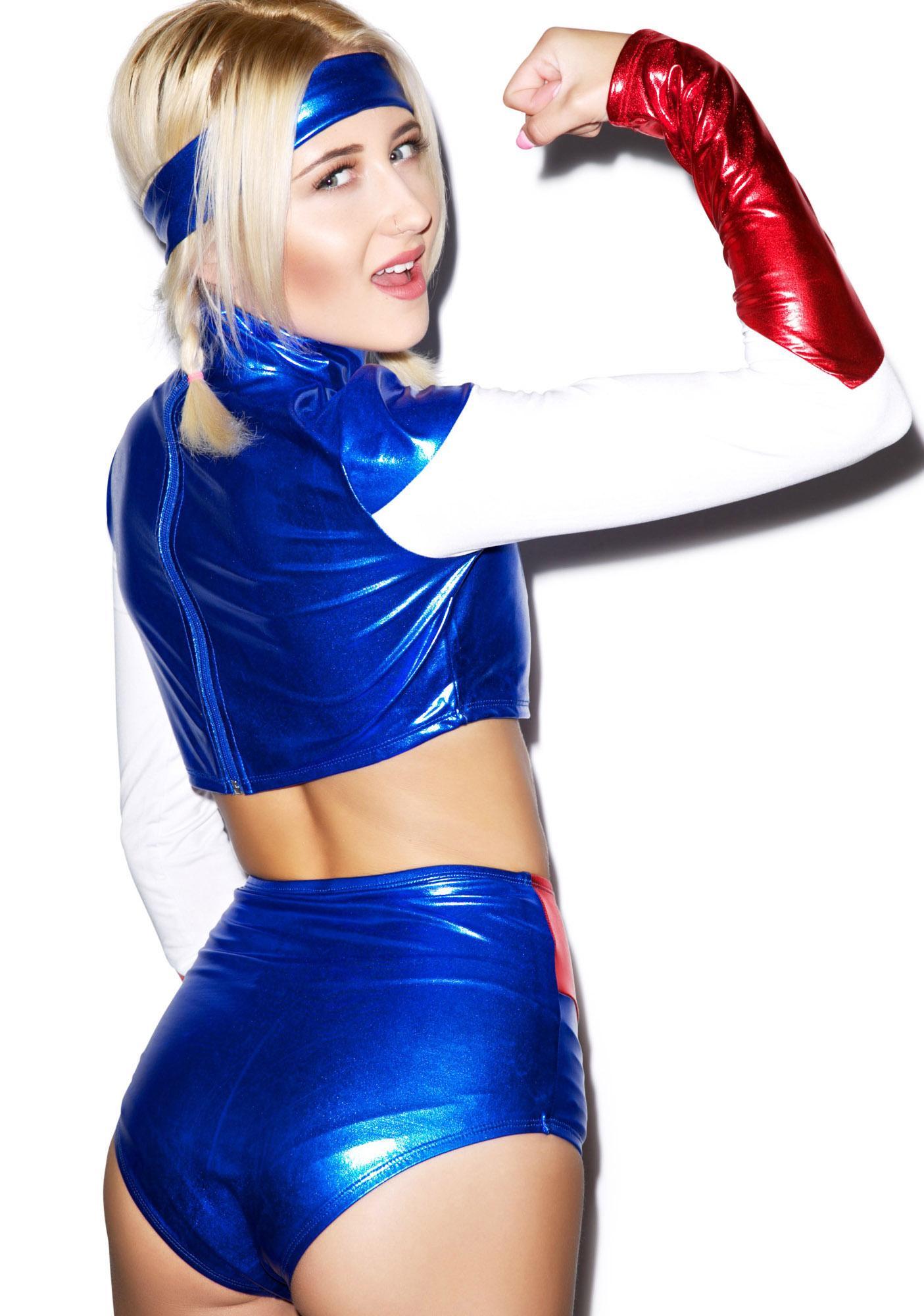 Mizz America Costume