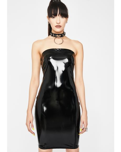 Loco Nitez Vinyl Dress