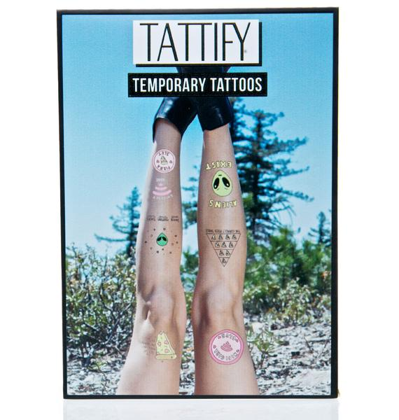 Take Me To Yr Pizza Temporary Tattoos