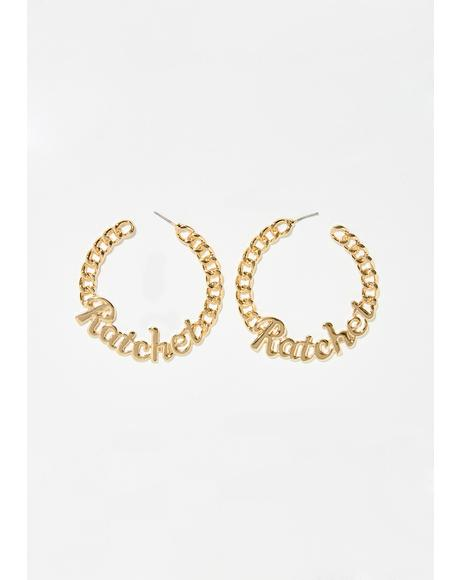 Have Some Class Hoop Earrings